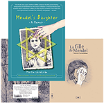 French adn English covers to mendel's Daughter: A Memoir