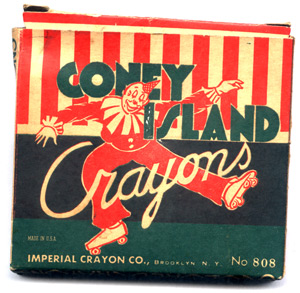Coney Island Crayon box.