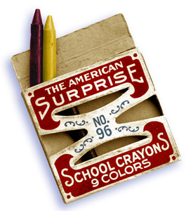 American Surprise Crayons