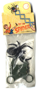 Plastic spiders